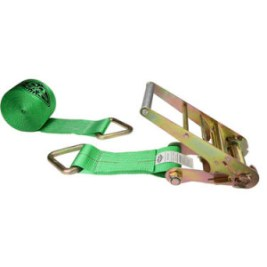 "4"" Ratchet Strap with D-ring from US Cargo Control"