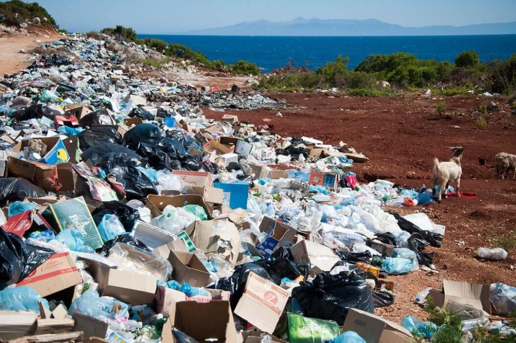 contaminación en las playas