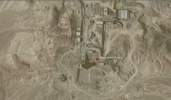 "New Launch Facility, 4 km NE of Semnan Safir Launch Facility (35°15'31.57""N 53°57'15.89""E )"