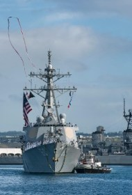 USS Paul Hamilton (DDG 60) returns to Pearl Harbor from a BMD deployment that lasted over 9 months
