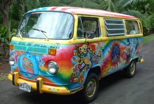 grateful dead van