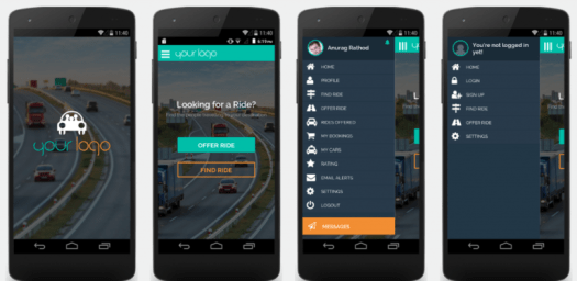 buy ride sharing app script