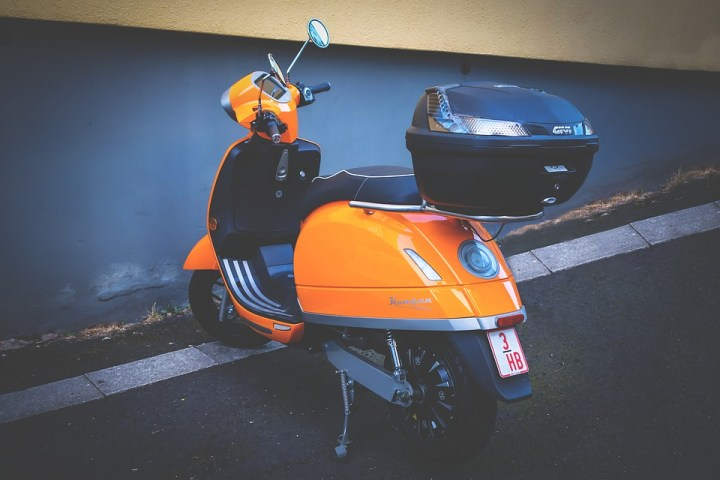 electric scooter on-demand