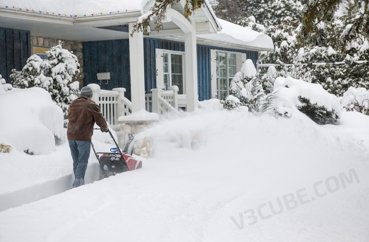 A lot of Snow? No Shovel No Problem – New On Demand Snow Removal App Gears Up For Winters