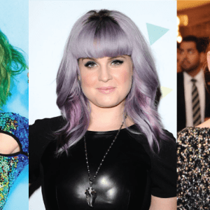 They Want Candy: Celebrity Hair Hues