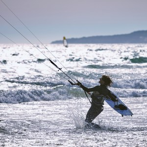 Kite Boarding is THE sport to try this summer