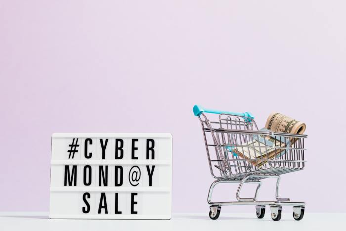 cyber monday sale graphic
