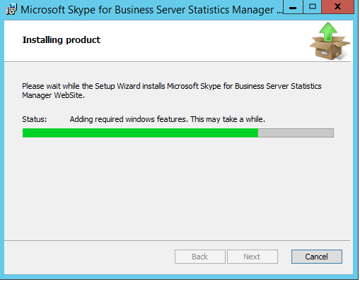 Skype for Business – Statistics Manager (Installation Guide