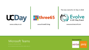 Three65 – UC Day 2017 – Microsoft Teams