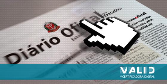 Diário Oficial terá Certificação Digital