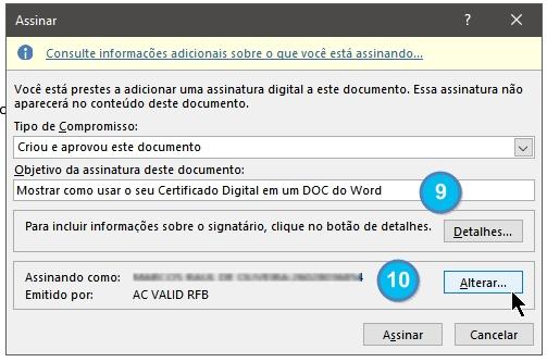 Como assinar um doc com seu e-cpf - Image 007