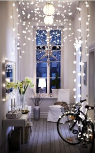 Decorating With Christmas Lights Indoors