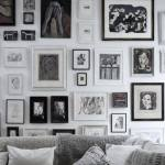 How To Decorate With Black & White Pictures