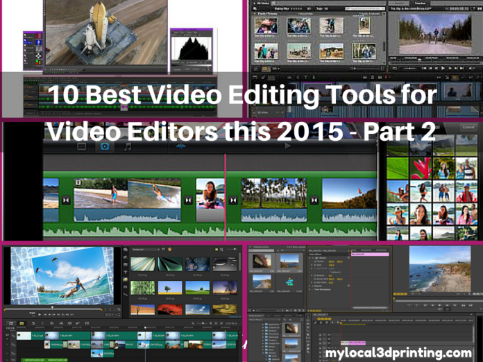 10 Best Video Editing Tools for Video Editors this 2015 - Part 2