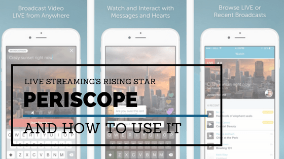 periscope live streaming