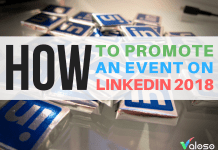 promote an event on linkedin 2018 valoso