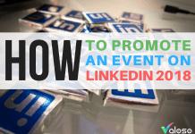 promote an event on linkedin 2018 valoso