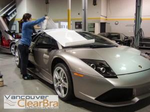Lamborghini Vancouver Clear Bra Vancouver Clearbra