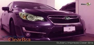 Subaru Impreza Vancouver Clear Bra