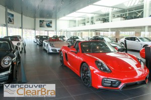 Porsche Centre Langley Clear Bra Vancouver ClearBra