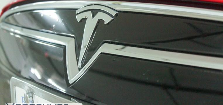 2015 Tesla P85D Clear Bra Vancouver ClearBra