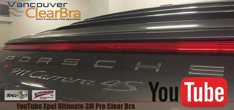 YouTube Xpel Ultimate 3M Pro Clear Bra