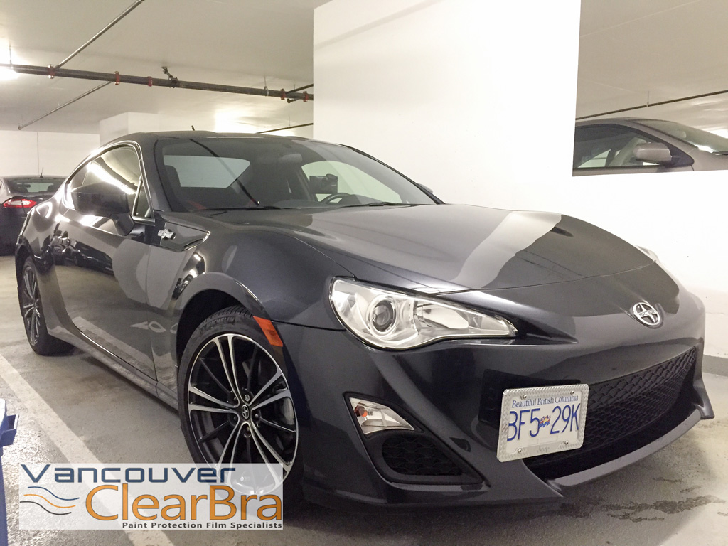 Scion FR-S Clear Bra Xpel Ultimate