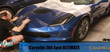 Z06 Corvette Xpel Ultimate Clear Bra