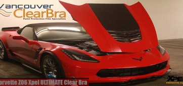 Corvette Z06 Paint Protection Film Xpel