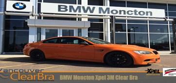BMW Moncton Clear Bra Wrap Xpel 3M
