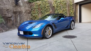 Corvette-z06-blue-roadster-Xpel-ULTIMATE-Clear-Bra-Paint-Protection-Film-installation-Vancouver-ClearBra-3M-2