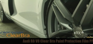 Audi R8 Xpel ULTIMATE Clear Bra PPF Vancouver ClearBra