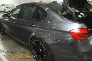 BMW M3 Xpel Ultimate Clear Bra Vancouver