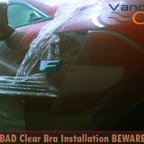 Lexus Vancouver BAD Clear Bra Installation