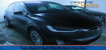 Tesla Model X Xpel STEALTH Matte Clear Bra