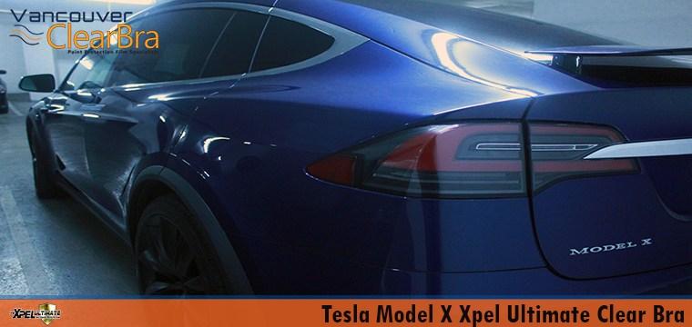 Tesla Model X Xpel Ultimate Full Clear Bra