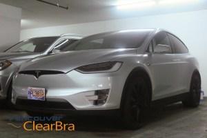 Tesla Model X Full Coverage Xpel Clear Bra