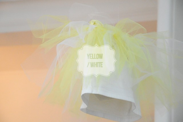 jupe tutu yellow