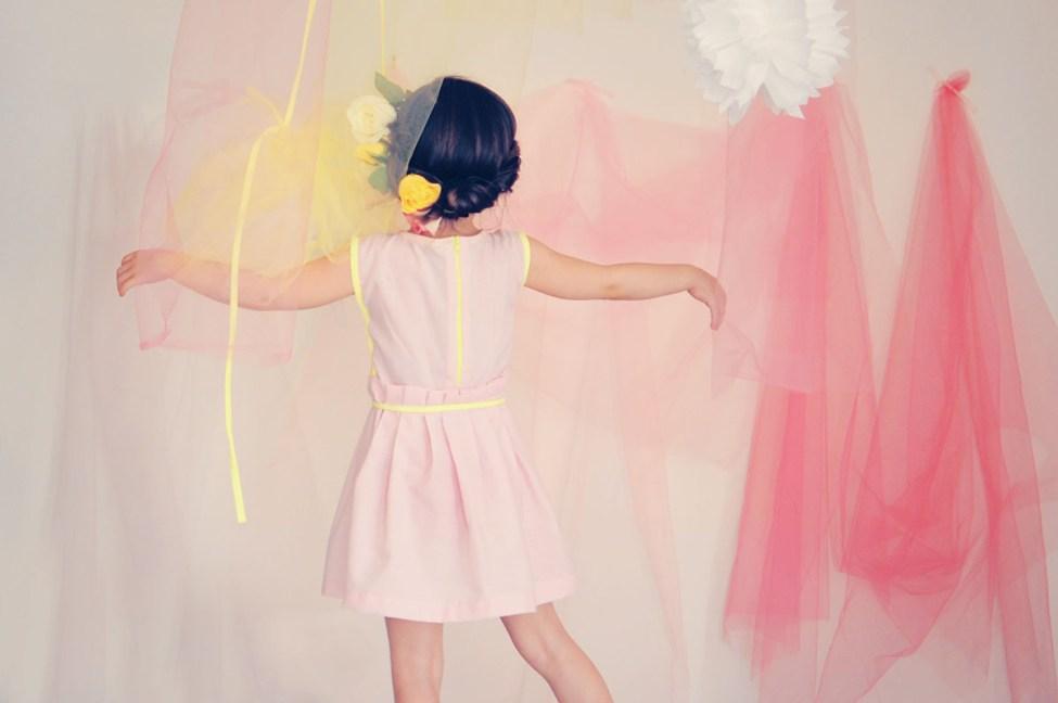 June - Patron robe fille