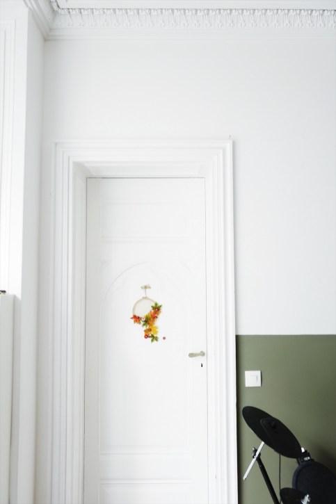 DIY // Couronne de Noël Fox Family