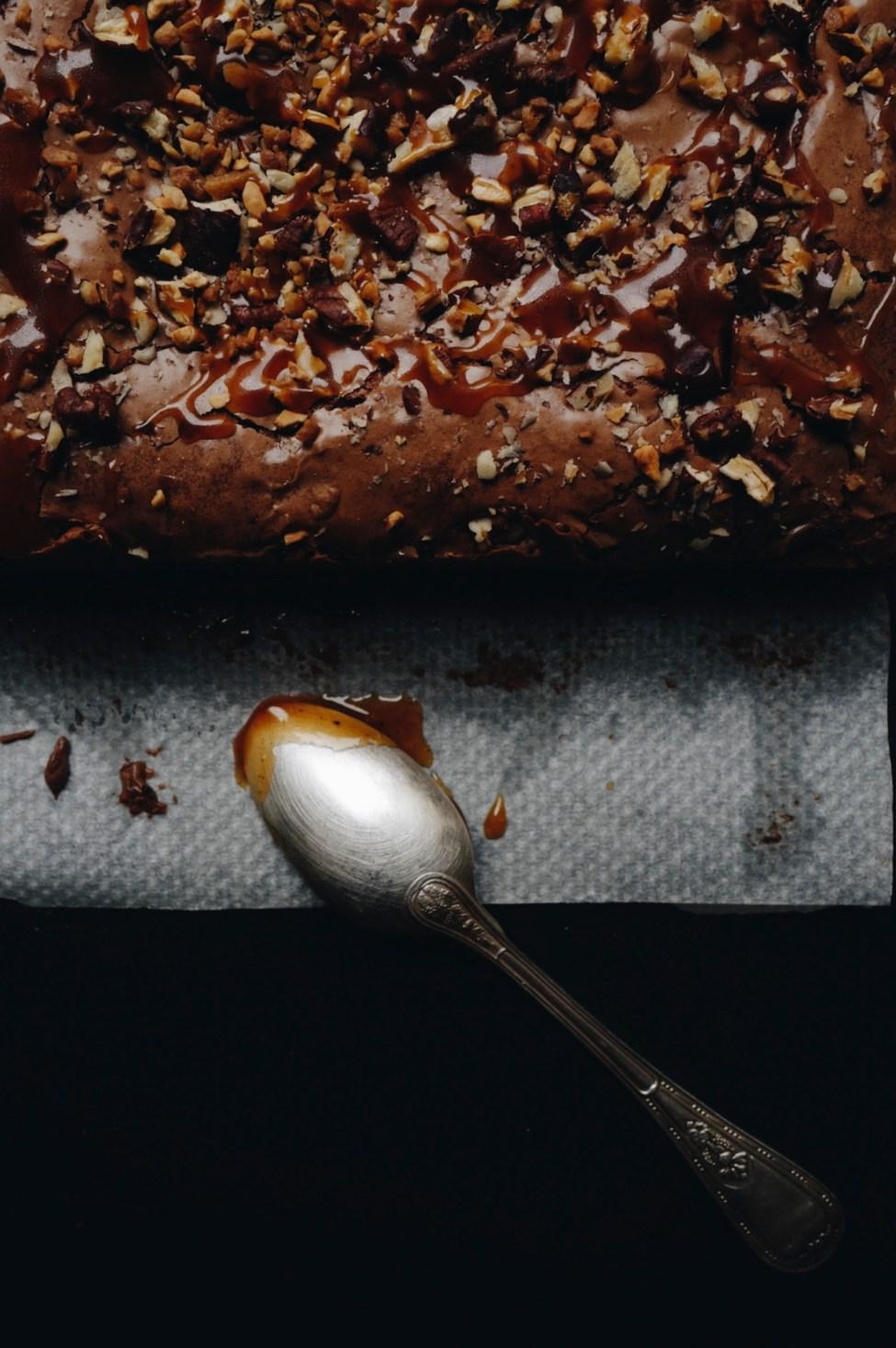 Le brownie caramel beurre salé