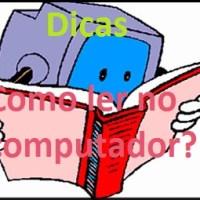 Como ler no computador