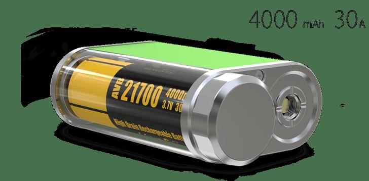 eleaf istick pico 21700 starter kitバッテリー