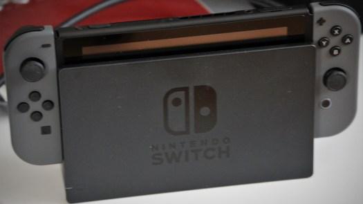 Switch im TV-Dock