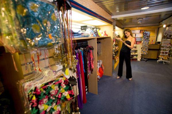 Boutique en Cruceros