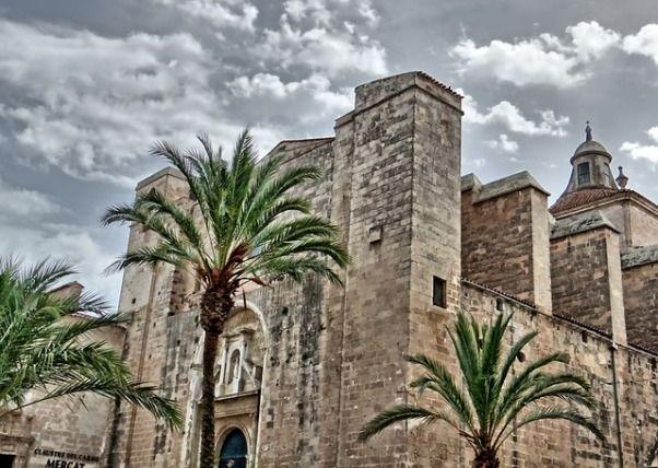 Claustro del Carmen en Mahon Menorca