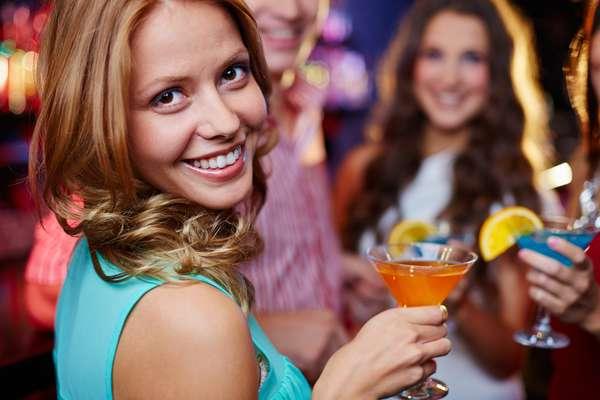Cocktail en el barco
