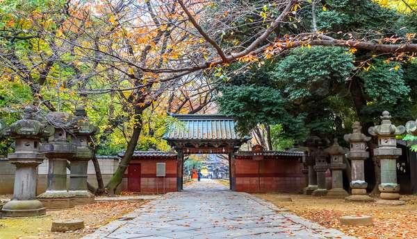 Entrada al parque Ueno