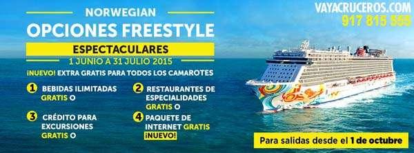 Opciones Freestyle de NCL