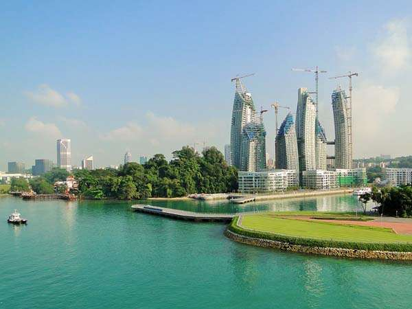 Vistas de Singapur - arquitectura